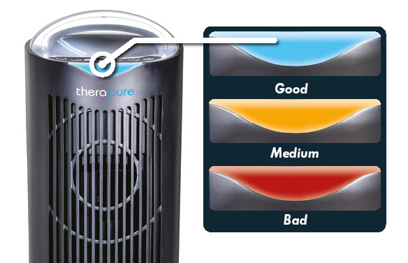 TPP640S Air Purifier Purification Levels Therapure ENVION